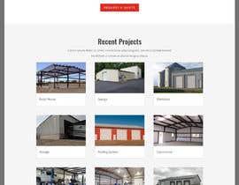 Nro 7 kilpailuun 1 Page Website Design  - 14/04/2021 12:01 EDT käyttäjältä sharifkaiser