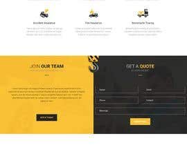 #11 for 1 Page Website Design Breakdown Recovery af ricsiecruz