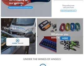 #24 for 1 Page Website Cover Design - Angel Sales by rajaumeda123