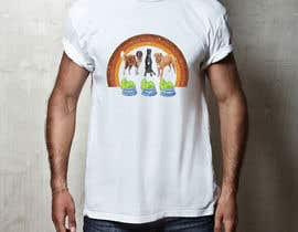 #8 for What are the BIG Dogs doing? Illustration T shirt Design by bairagythomas