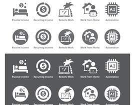 #39 for Design 5 icons af freelancerthebes