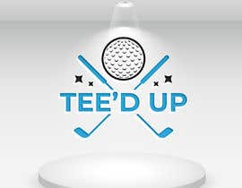 #127 for Logo Design - mobile golf simulator for: Tee'd Up (this is the company name) by designcute