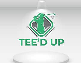 #129 for Logo Design - mobile golf simulator for: Tee'd Up (this is the company name) by designcute