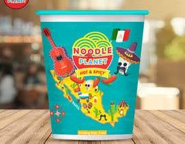 #467 for Logo and noodle cups design af Adreyat08