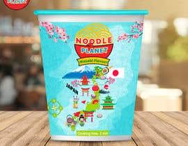 #469 for Logo and noodle cups design af Adreyat08