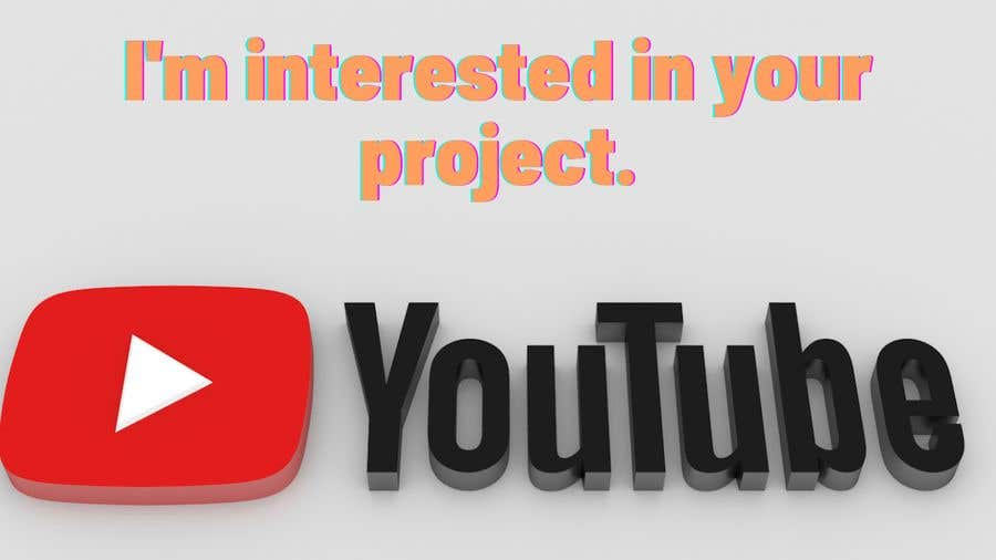 Proposition n°                                        1                                      du concours                                         MonitiZe my youtube channel as soon as possible