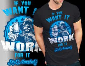 sauravarts tarafından I need a T-shirt design(Work) için no 346