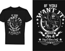 bdmah tarafından I need a T-shirt design(Work) için no 246