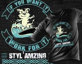 DesignerMithe67 tarafından I need a T-shirt design(Work) için no 350