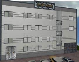 #12 for Factory facade design with 3D af dmiljanka