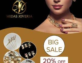 #28 cho Midas Jewelry Marketing flyers and banner bởi tuhinst2020