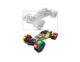 #72 for CARTOON PORTRAIT ILLUSTRATION & 3-D CARTOON RACE CAR DESIGN IN NASCAR DESIGN COLOR WRAP by erwantonggalek