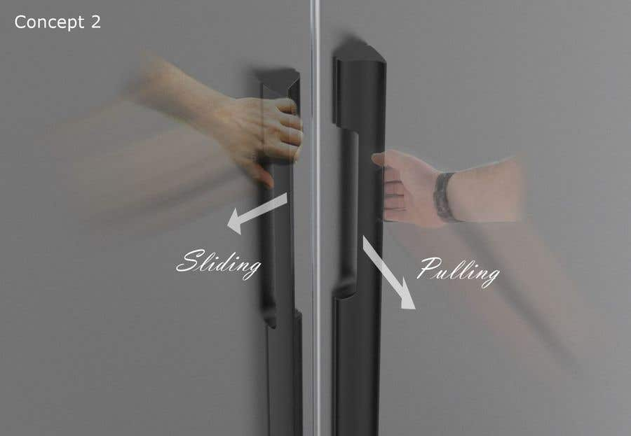 Proposition n°                                        75                                      du concours                                         Tall Aluminum Handles for Openable or Sliding Wardrobes