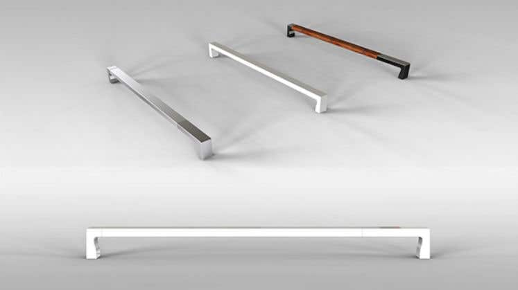 Proposition n°                                        1                                      du concours                                         Tall Aluminum Handles for Openable or Sliding Wardrobes