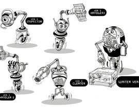 #45 cho Draw us 5 goofy robots bởi marstyson76