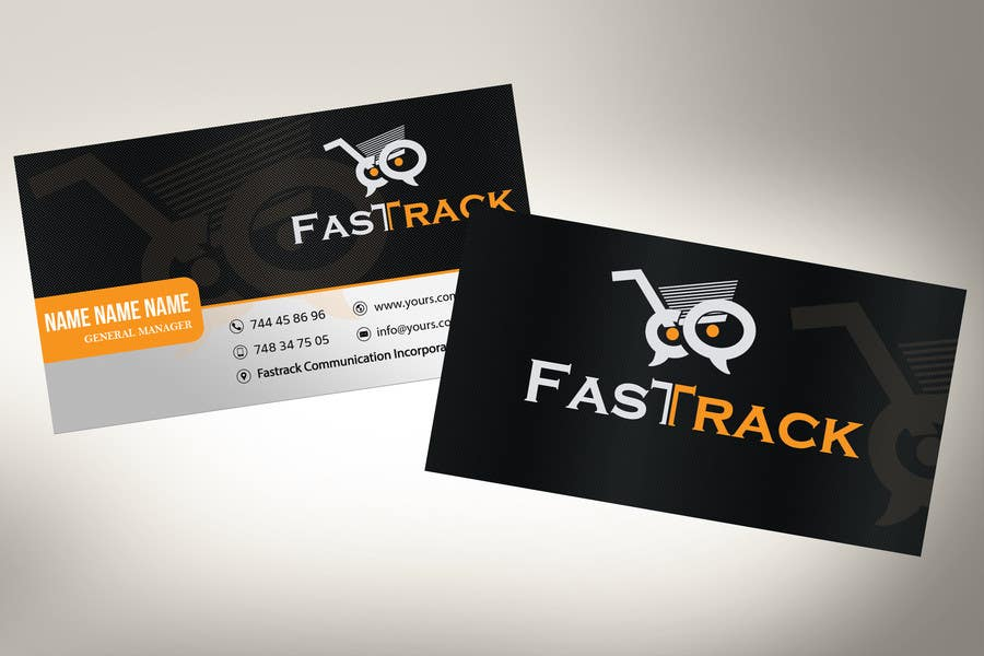Proposition n°                                        36                                      du concours                                         Design a Logo for Fast Track
