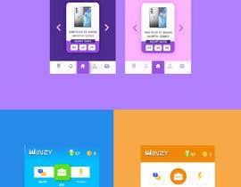 #12 for ReBuild Sample UI/UX for Home page of Quiz App af Fanidesing
