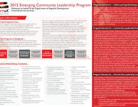 #4 for Design a Brochure for this program af acelobos9