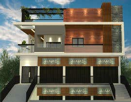 #19 untuk House Elevation and 3D design oleh Niranjanisunil
