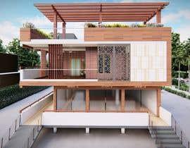 #30 untuk House Elevation and 3D design oleh AfrahZakir11