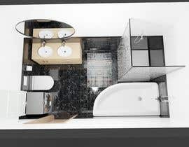 #10 untuk Bathroom 3d design oleh Leoanrd023