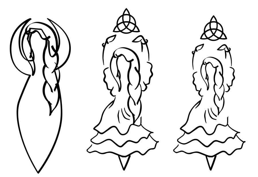 Kilpailutyö #17 kilpailussa Design a Logo for The Solitary Pagan