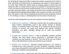 #8 for Business Writing af VAkishor01