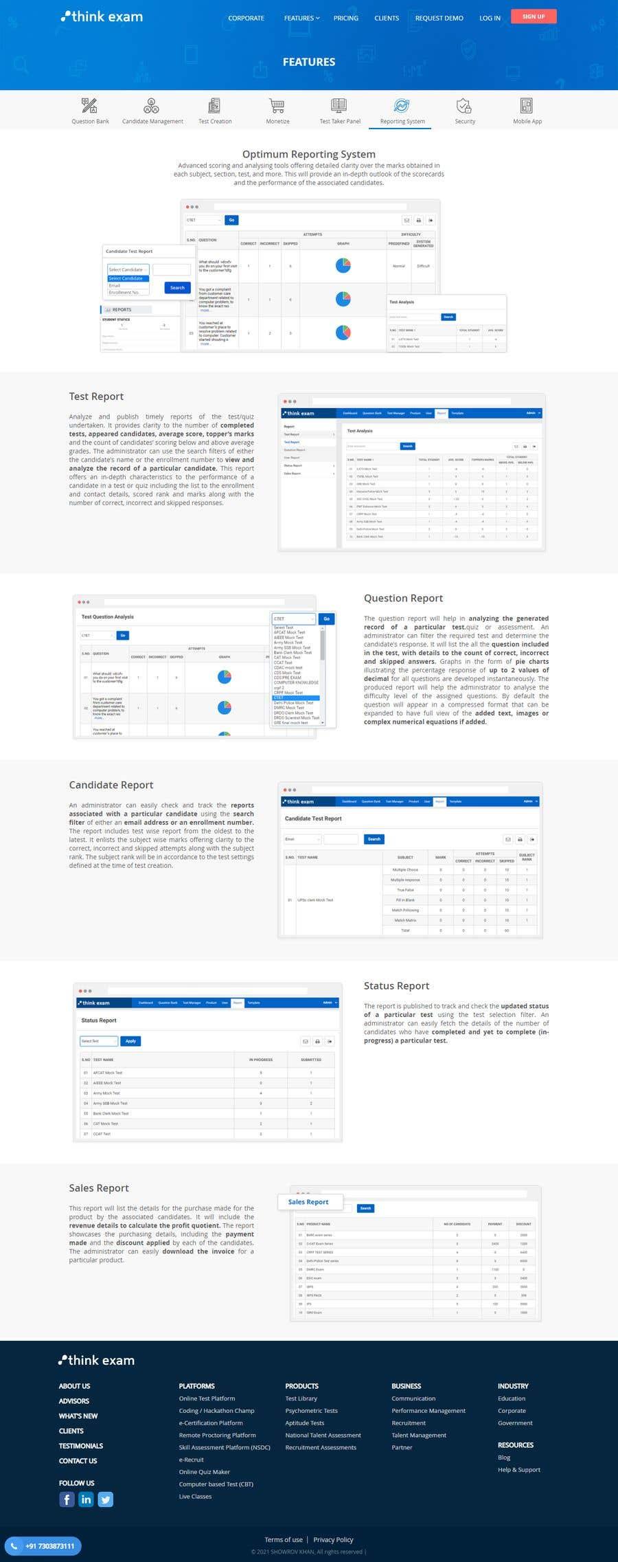 Kilpailutyö #                                        10                                      kilpailussa                                         Building an exam portal