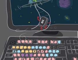 Nro 9 kilpailuun Alien Themed Illustrations käyttäjältä Plurinx