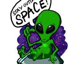 Nro 111 kilpailuun Alien Themed Illustrations käyttäjältä jediahbillones