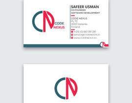 Nro 1252 kilpailuun Design a business card käyttäjältä toahaamin