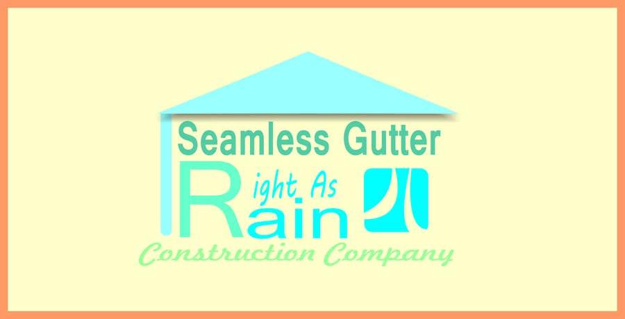 Konkurrenceindlæg #41 for Simple Logo Design For Gutter Installation / Construction Business