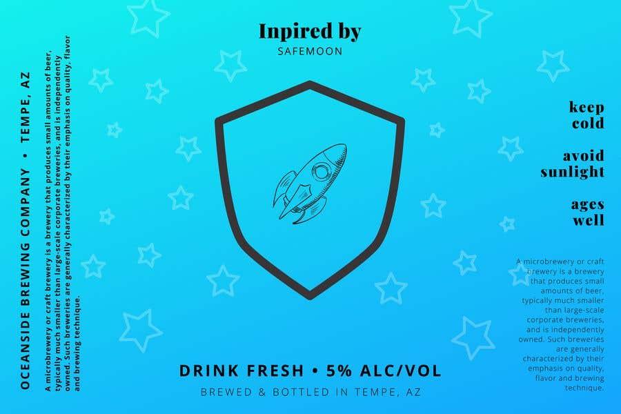 Kilpailutyö #                                        17                                      kilpailussa                                         Create a SAFEMOON inspired BEER label!