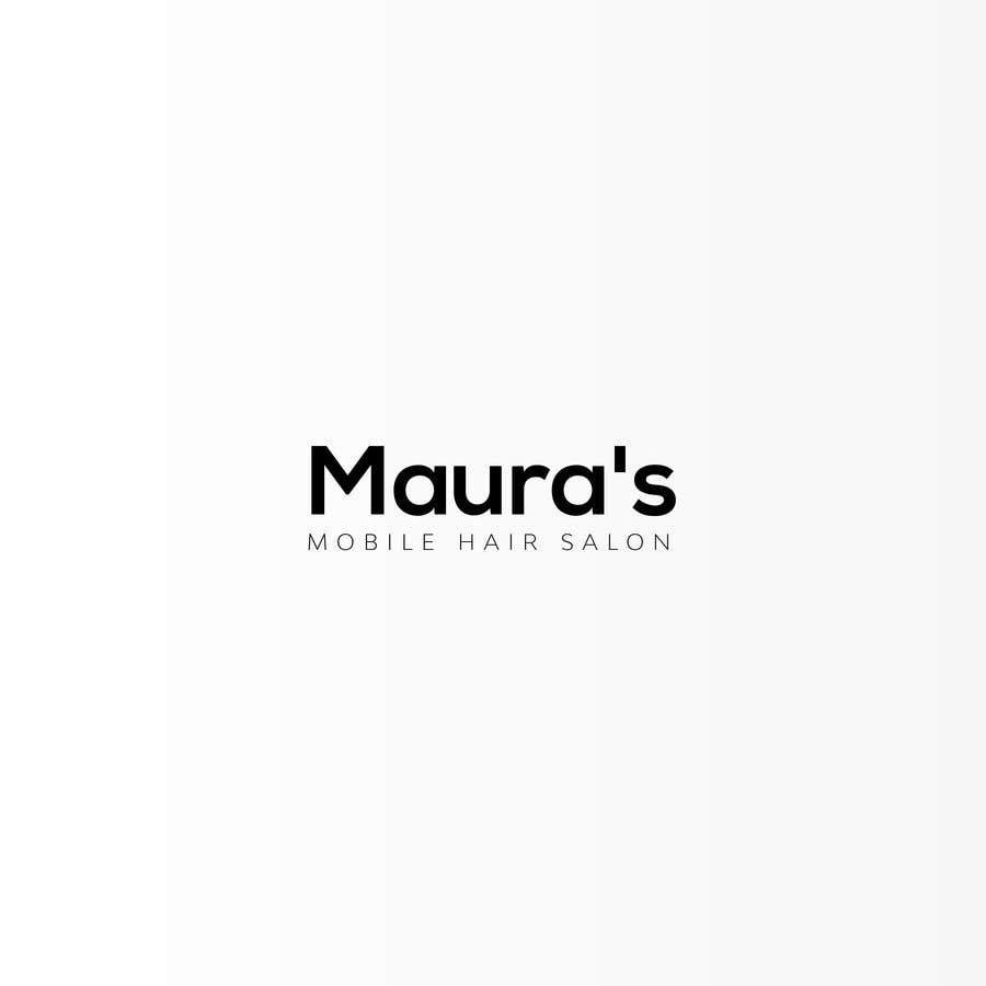 Bài tham dự cuộc thi #                                        89                                      cho                                         Design a logo for      Maura's Mobile Hair Salon