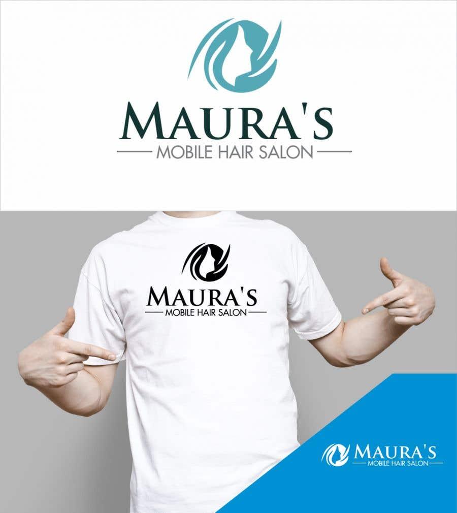 Bài tham dự cuộc thi #                                        85                                      cho                                         Design a logo for      Maura's Mobile Hair Salon