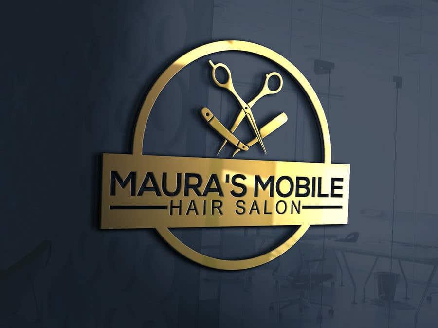 Bài tham dự cuộc thi #                                        93                                      cho                                         Design a logo for      Maura's Mobile Hair Salon