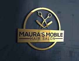 #93 cho Design a logo for      Maura's Mobile Hair Salon bởi ra3311288