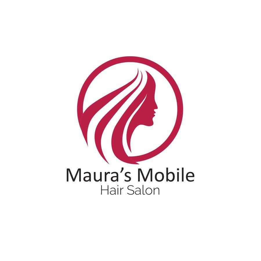 Bài tham dự cuộc thi #                                        6                                      cho                                         Design a logo for      Maura's Mobile Hair Salon