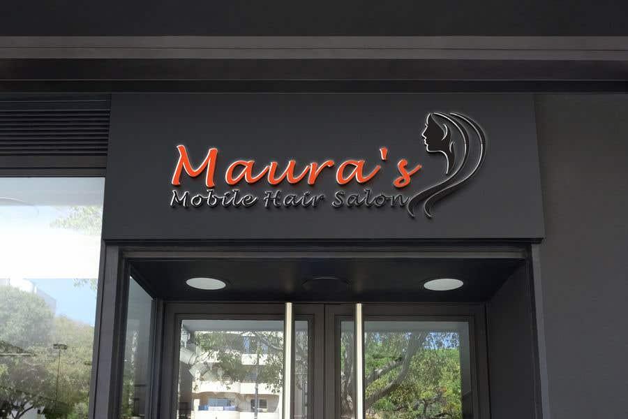 Bài tham dự cuộc thi #                                        44                                      cho                                         Design a logo for      Maura's Mobile Hair Salon
