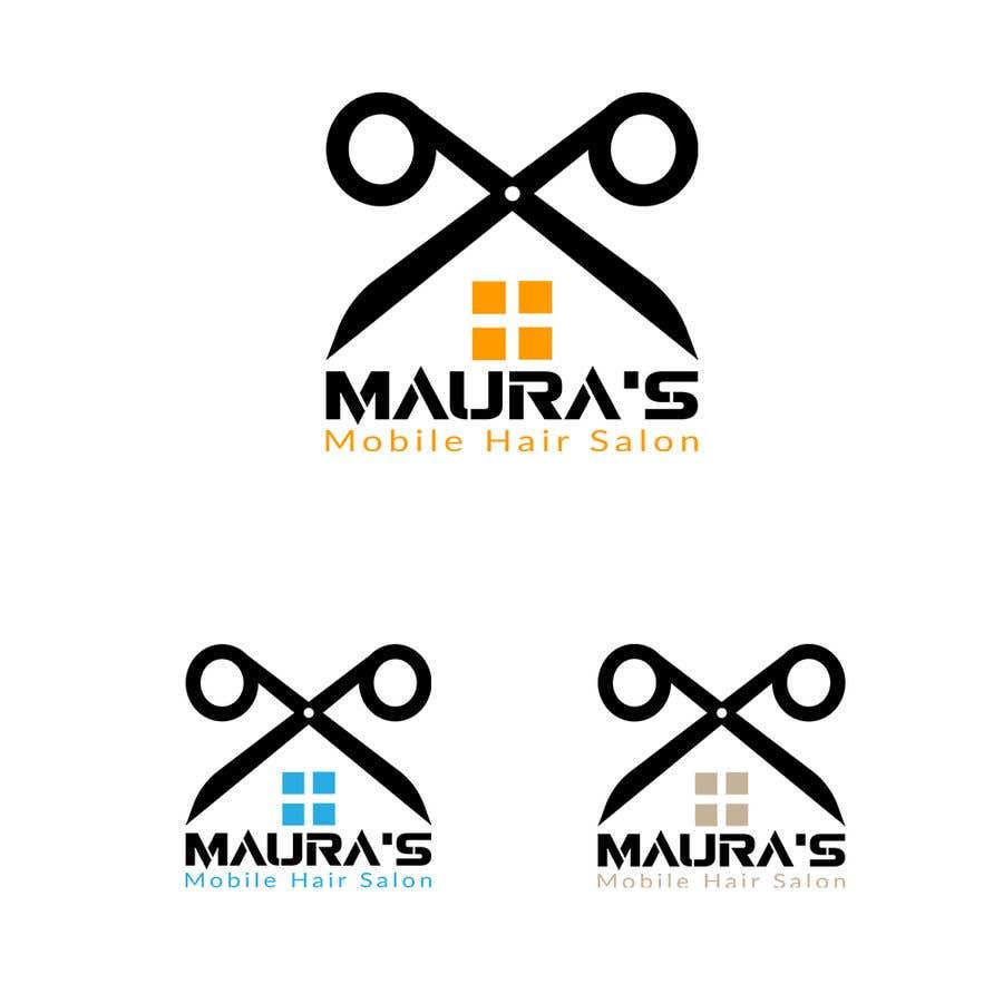 Bài tham dự cuộc thi #                                        91                                      cho                                         Design a logo for      Maura's Mobile Hair Salon
