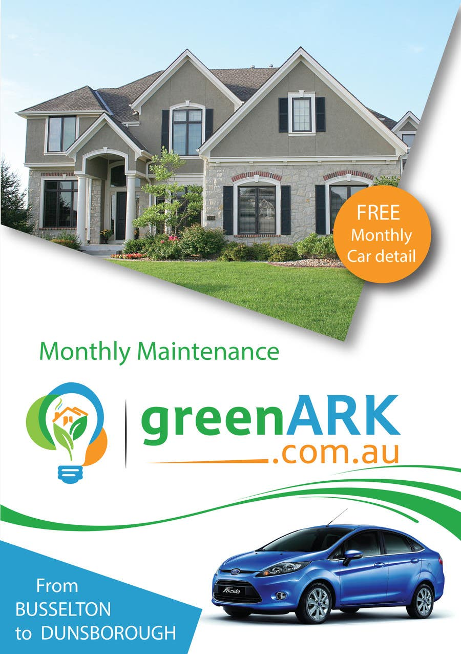 Contest Entry #                                        16                                      for                                         Design a Flyer for GreenArk Property Maintenance