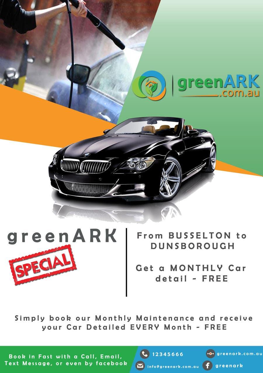 Contest Entry #                                        23                                      for                                         Design a Flyer for GreenArk Property Maintenance