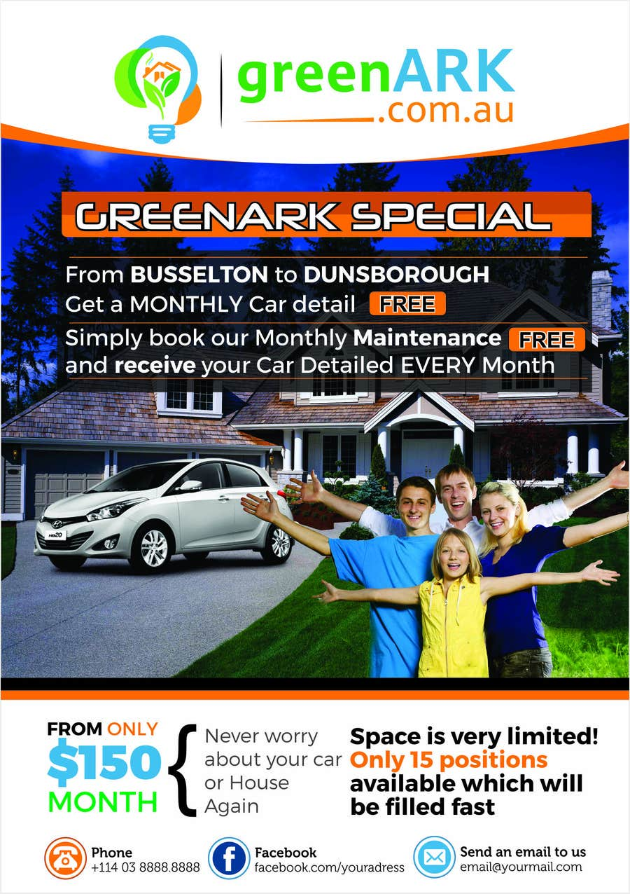 Contest Entry #                                        15                                      for                                         Design a Flyer for GreenArk Property Maintenance