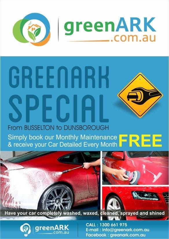 Contest Entry #                                        26                                      for                                         Design a Flyer for GreenArk Property Maintenance