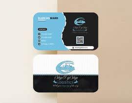 #280 for Design Business card for logistics company af Ritudas1884
