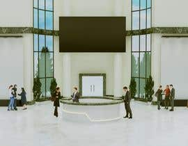 #11 cho 3D Reception hall design bởi anto2178