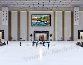 #17 cho 3D Reception hall design bởi irmanws