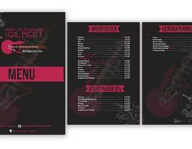 #29 für Design menu for local bar von JPixelLab