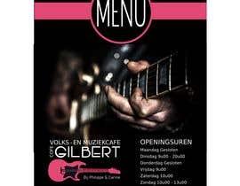 #61 für Design menu for local bar von sanzma