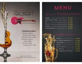 #56 für Design menu for local bar von eleighva
